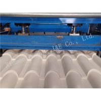Quality 0.4 0.5 0.6 mm Corrugated PPGI Roof Tile Roll Forming Machine for sale