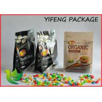 Quality Four Side Seal Block Bottom Packaging Bag For Coffee Packaging Snack Package for sale