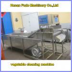 Quality mushroom cleaning machine , vegetable washing machine for sale