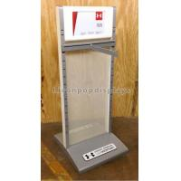 Best Adjustable Double Sided Hanging Garment / Clothes Display Racks Metal Material wholesale