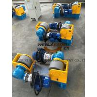 Quality Conventional Light Pole Welding Machine Variable Speed Pipe Rotators For Welding for sale