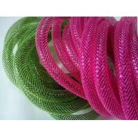 Quality UL ROHS PET Expandable Braided Sleeving Fire Resistance / Wire Mesh Sleeve for sale