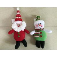 Best Christmas tree decoration hanging snowman&santa&deer wholesale