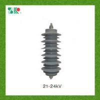 Quality 10ka IEC60099-4 Standard 24kv Lightning Surge Arrester for sale