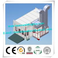 Quality H Beam Shot Blasting Machine Industrial For Car Spray Booth for sale
