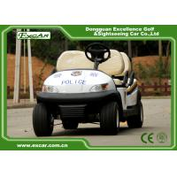Quality Convenient 4 Wheel Electric Security Vehicles Without Roof , 1 Year Warranty for sale