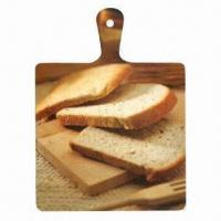 China Melamine Cutting Board in Various Shapes, Made of Melamine, Customized Arts are Accepted on sale