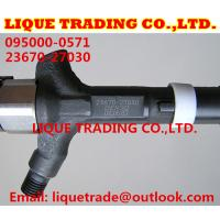 Quality DENSO common rail injector 095000-0570 095000-0571  095000-0420 TOYOTA Avensis 23670-27030, 23670-29035 for sale