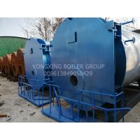 Quality Energy Saving Gas Condensing Boiler , Food Factory Gas Fired Boiler 93% Efficiency for sale