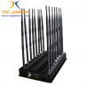 Buy cheap 16 Bands Desktop Jammer Blocker Shield 3G 4G Wimax UHF VHF Lojack Wi-Fi GPS L1 from wholesalers