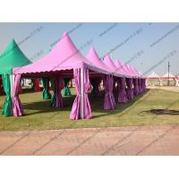 Quality Colorful Multi - Side PVC Pagoda Tent Aluminium Alloy Frame For Event / Party for sale