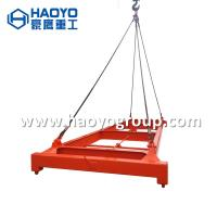 Quality shanghai HAOYO Yellow semi-automatic container lifting spreader frame 40 feet  20feet for sale