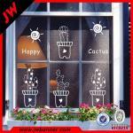 Best UV resistant window decoration Window Stickers Vinyl showcase Decals wholesale