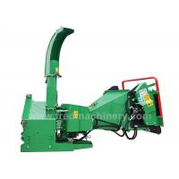 Quality 30 - 70HP Tractor 5 Inch Wood Chipper With Double Horizontal Rollers for sale