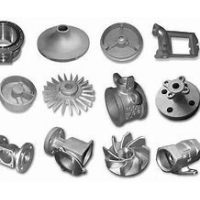 Quality High Precision ADC12 ADC10 Aluminium Gravity Die Casting Machinery Parts for sale