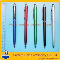 Best Slim screen touch ballpoint pen,touch pen for ipad iphone, multi-function pen wholesale