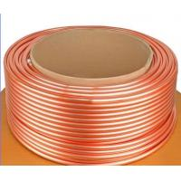 China ASTM B111 C44300 , C68700 Brass Tube For Condenser And Cooling Application on sale