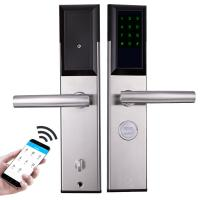 China Zinc Alloy Intelligent Door Lock Office Building Use APP Remote Controlled on sale