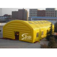 Quality Yellow Inflatable Outdoor Tent, Giant Inflatable Dome for Opening Ceremonies for sale
