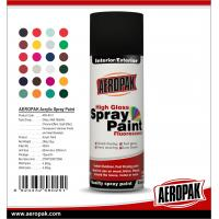 China AEROPAK China Wholesale 400ml High Quality Acrylic Spray Paint on sale