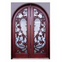 Quality Solid Exterior Hand-carved Door for sale
