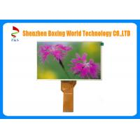 Quality High Resolution Sunlight Readable LCD Screen 7 Inches RGB Interface 500 Contrast Ratio for sale
