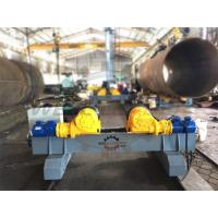 Quality Motorized Moving Fit Up Welding Turning Rolls , Hydraulic Adjustable Wind Tower Rotator Rollers for sale