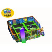 Buy cheap Durable Jumping Trampolines Park Equipment / Kids Indoor Playground from wholesalers