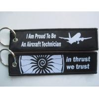 Best I Am Proud To Be An Aircraft Technician In Thrust We Trust OEM Cloth Keyring with Your Deisgn wholesale