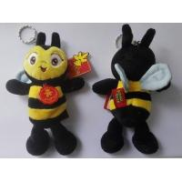Quality Bee Keychain Plush Toys for sale