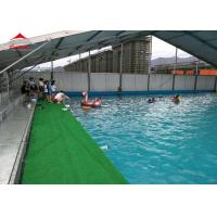 Quality Large Swimming Pool Tent Powder Coated Steel or Aluminum UV Resistance for sale