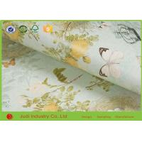 China Victor Crafts Gravure Floral Wrapping Paper , Kraft Christmas Wrapping Paper on sale