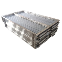 Quality Eoxy Coating  Aluminum Fin Type Heat Exchanger For Cold Storage for sale