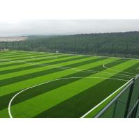Quality 40 Mm - 60 Mm Outdoor Football Realistic Artificial Grass Mat Landscaping Real Looking for sale