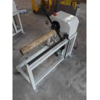 Quality LC-500 manual load plastic and paper core cutting machine core cutter paper tuber cutter for sale