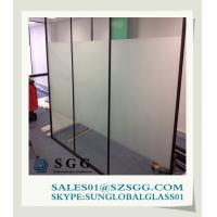 China price Frosted Glass office Door on sale
