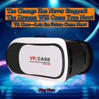 Quality Hot Selling Virtual Reality VR Headset IMAX 3D Video Glasses Google Cardboard Plastic Version Manufacturer for sale