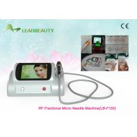 Quality 2 professional treatment handles rf fractional electric stretch mark micro needle for sale