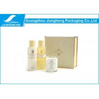 China Cardboard Luxury Printed Paper Cosmetics Gift Boxes With Plastic Tray SGS on sale