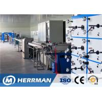 Quality PLC Control 12/24 Fiber Optic Cable Production Line Secondary Coating Machine for sale