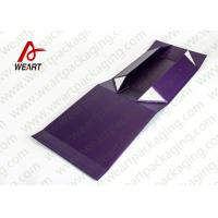 Quality UV Coated Automatic Foldable Paper Boxes Gift Packaging With Magnets for sale