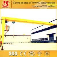 Quality Manufacturer With Low Price BMH Model Semi Gantry Crane With Electric Hoist for sale