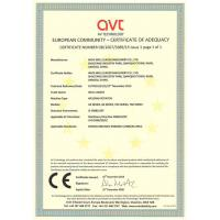 WUXI WELL LEADER MACHINERY CO., LTD Certifications