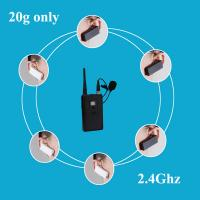 Quality Rechargeable Digital Pocket Wireless Tour Guide System for sale