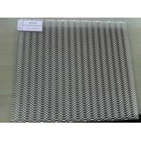 China Expanded Stainless Steel Mesh Screen For Indoor / Outdoor Decoration on sale