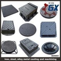 Quality GX Casting Vented Watertight Manhole Cover with Competitive Price for sale