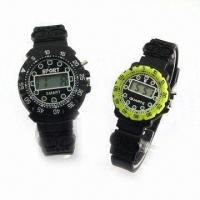 Quality Basic LCD Watches, Ideal for Gent's and Ladies' for sale