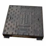 Quality Ductile Cast Iron Heavy Duty Manhole Covers Telecom Manhole Cover Square for sale