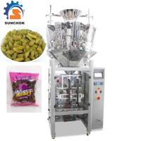 Quality Pillow Bag Raisins Automated Packing Machine With Colorful Touch Screen for sale