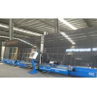 Quality Automatic Insulating Glass Silicone Glue Sealing Robot Sealant Spreading Line 2.5m Height for sale